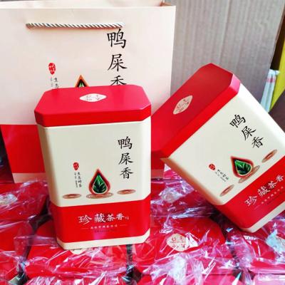 凤凰茗茶鸭屎香乌龙茶凤凰单丛茶抽湿鸭屎香清香型1斤2铁盒装包邮