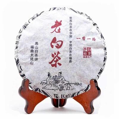 福鼎白茶 太姥老白茶饼 高山野生寿眉 贡眉 白牡丹 牡丹王300g/饼