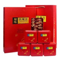新茶铁观音茶叶原味浓香型礼盒装红茶金骏眉 正山小种 大红袍