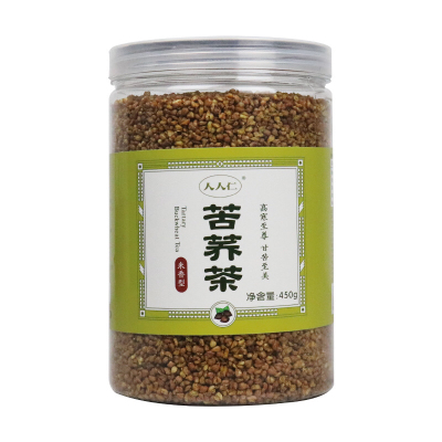 【人人仁】苦荞茶450g罐装米香型苦荞茶
