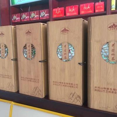 井冈竹茶(S001)礼盒装,鲜叶特壹级,60g/盒20小包
