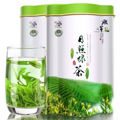 【买一送一】绿茶2019新茶高山日照袋装云雾绿茶散装浓香型共250g