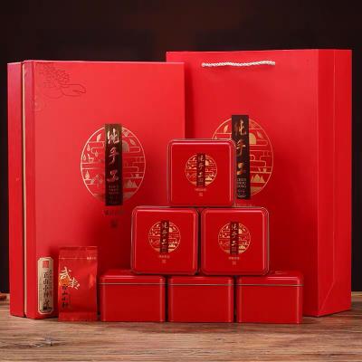 中秋节送礼礼品2019新茶武夷山正山小种红茶礼盒装茶叶高档浓香型
