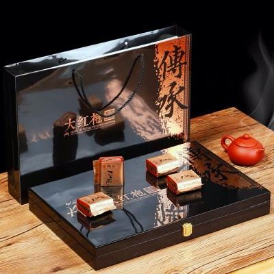 武夷山大红袍茶叶礼盒装新茶肉桂浓香型 乌龙茶武夷岩茶过节送礼