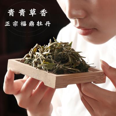 2018年福鼎白茶茶叶特级白牡丹散茶高山白茶50g老树牡丹
