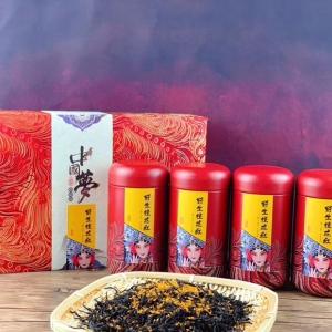 500g野生桂花红 正山小种 红茶茶叶