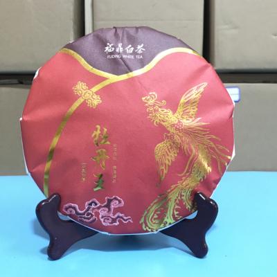 福鼎白茶,2019年春,明前一级牡丹王,牡丹饼茶300克,花香牡丹