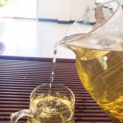 安吉白茶新茶开园头采正宗原产地高山绿茶散装250g半斤礼盒联系客服