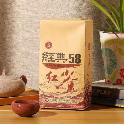凤牌红茶 云南滇红茶特级浓香型经典58凤庆茶叶380g