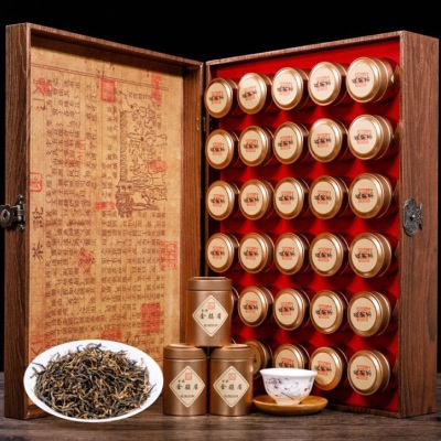 小罐装金骏眉红茶礼盒装武夷山特级蜜香金骏眉新茶叶小罐高档礼盒