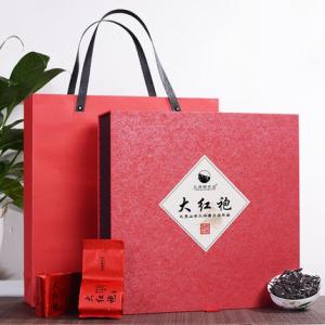 2021新茶 武夷山乌龙茶武夷岩茶大红袍茶叶浓香型礼盒装