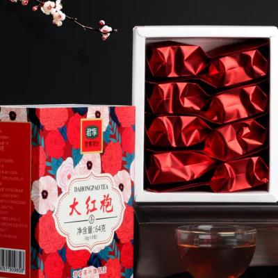 大红袍茶叶小包装浓香型乌龙茶2019新茶正宗武夷岩茶肉桂礼盒装