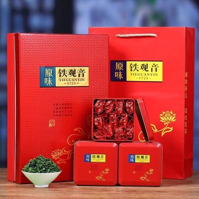 安溪铁观音茶叶浓香型2019新茶乌龙茶散装袋装小包装礼盒装500克