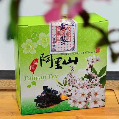 【台湾阿里山高山茶】阿里山高山茶色泽翠绿鲜活滋味甘醇滑软、厚重且带活性