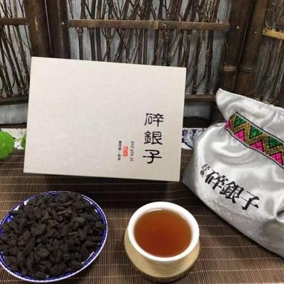 云南普洱熟茶8年碎银子糯米香茶化石老茶头礼盒装散装500克