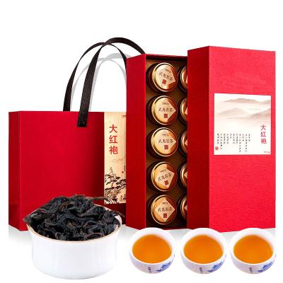 武夷山岩茶肉桂大红袍茶叶 10小罐散装高档礼盒装 红茶 厂家直销