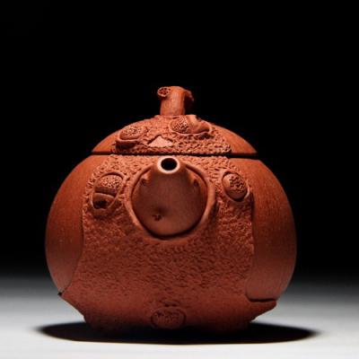 正宗宜兴紫砂壶紫砂茶具茶壶茶具茶杯套装名人紫砂壶纯手工壶容量250