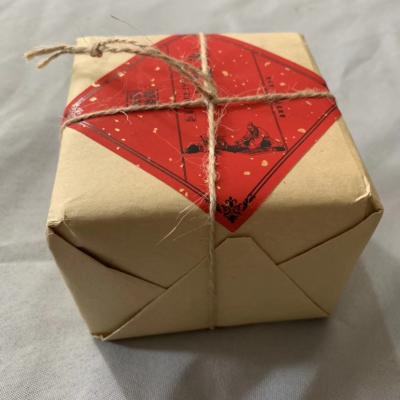 2009福鼎老白茶贡眉四方形砖1.8斤重,糯香枣香茶气足回甘甜