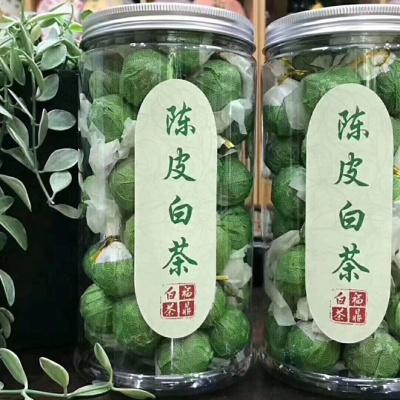 2012福鼎老白茶 贡眉 寿眉白茶龙珠陈皮白茶礼盒罐装 降火 一颗一泡