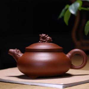 正宗宜兴紫砂壶茶壶茶具茶杯套装龙头壶容量400毫升