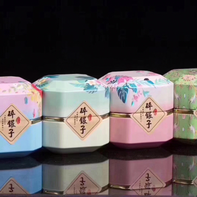 云南普洱熟茶碎银子糯米香 茶化石 礼盒罐装老茶头散装一斤四罐