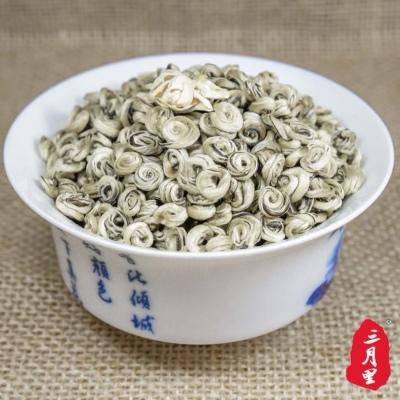 茉莉花茶2021新茶 精品茉莉玉螺 浓香特级茉莉花茶散装500g 耐泡