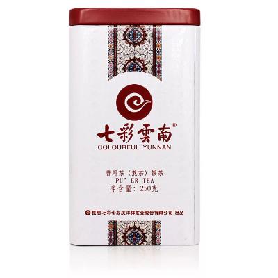云南普洱茶熟茶浓香散装  七彩云南 庆沣祥 一级散茶 250克熟散茶