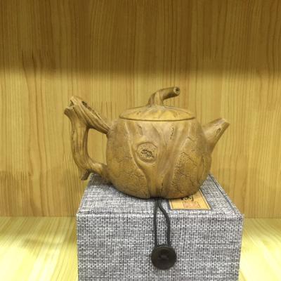 名家纯手工灵芝紫砂壶,老坑段泥紫砂,工艺精湛 精致到位,造型古朴典雅。