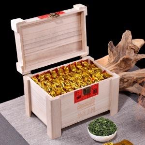 2019新茶秋茶安溪铁观音茶叶特级浓香型乌龙茶木质礼盒装500g送礼