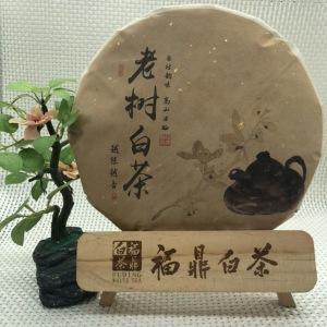 2011年福鼎潘溪老料压制的贡眉饼,陈味枣香一应俱全。
