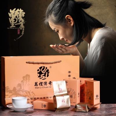 万里传奇 武夷山茶叶大红袍肉桂果香特级清香型乌龙茶250g