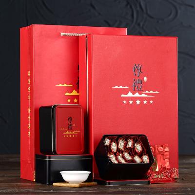 安溪铁观音秋茶高档礼盒装正品1725浓香型茶叶礼盒年货送礼礼品茶
