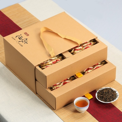 新茶武夷山红茶金俊眉袋装 金骏眉蜜香型高档礼盒装茶叶500g