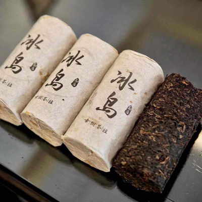 普洱茶生茶2005年冰岛老茶500克一条老茶柱回甘持久高香