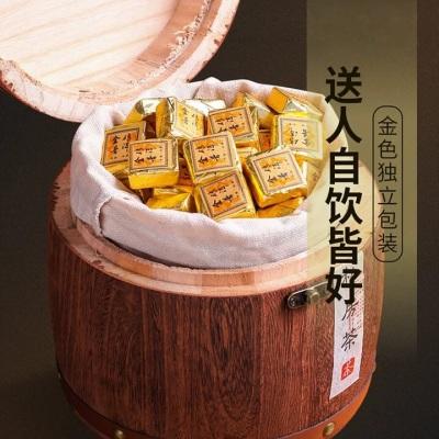 云南普洱熟茶小金砖小沱茶普洱小方饼醇香茶叶礼盒装1000g