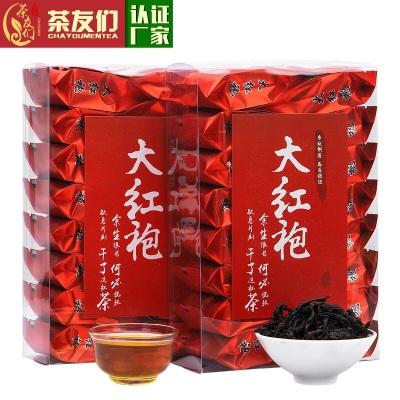武夷山岩茶大红袍茶叶乌龙茶肉桂茶袋装散装浓香型大份量250克岩韵花香