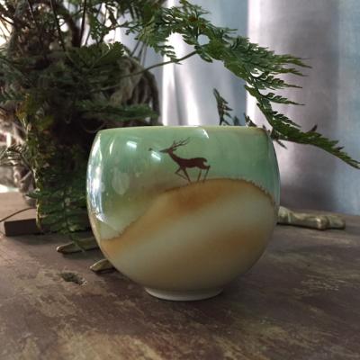 高档手绘陶瓷主人杯
