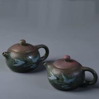 德化陶瓷手绘茶壶西施壶