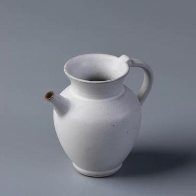 仿古漳州窑开片公道杯 手工粗陶功夫茶具分茶器创意祝福公杯茶海