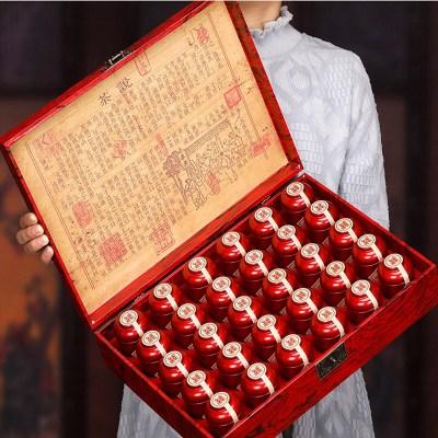 新茶送礼高档礼盒正山小种红茶茶叶 500克