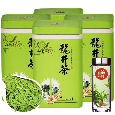 龙井茶【买一斤送半斤2021新茶】雨前龙井绿茶茶叶散装多规格可选