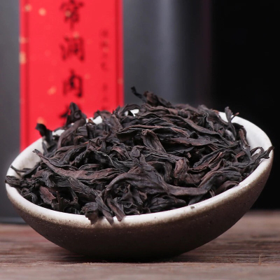 2021新精选武夷山茶霸香大红袍茶叶散装500g正岩肉桂乌龙茶 包邮