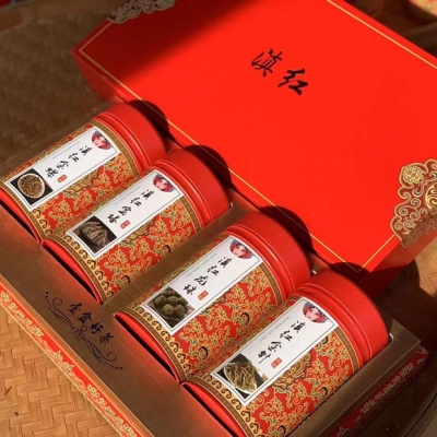500g云南滇红 大金针 宝塔 金螺 龙珠滇红四宝礼盒装