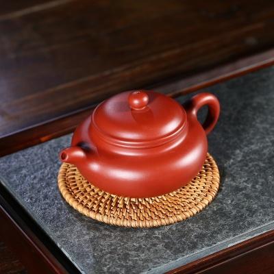 宜兴紫砂壶仿古壶原矿大红袍容量250王国望老师手工