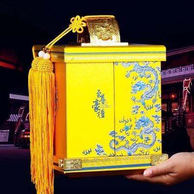 至尊豪礼铁观音茶叶金骏眉红茶高档礼盒装正山小种大红袍茶叶500g