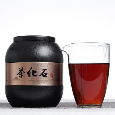 云南普洱茶2010勐海熟茶 茉莉花茶化石 碎银子500克罐装