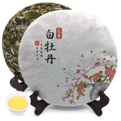2019年福鼎白茶白牡丹茶饼日晒磻溪高山茶叶过年送礼年货礼品