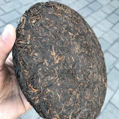 2015年勐海布朗山古树熟普。一款可以给你喝了忘不了的高端熟普。