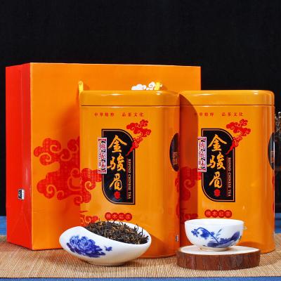 武夷山红茶养胃金骏眉红茶 武夷山特级蜜香金骏眉 新茶罐装茶叶 2