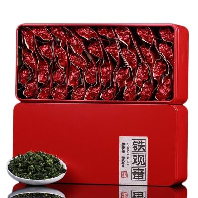 安溪铁观音新茶铁观音浓香清香型绿茶礼盒装兰花香茶叶春茶250g500g